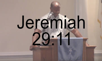 Jeremiah 29-11 Sermon Brownsville Community Church Of God